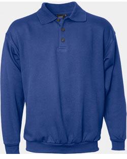 Klassisches Polo-Sweatshirt